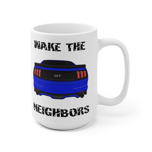 2015-17 Deep Impact/Lightning Blue Wake The Neighbors Mug (Original) - 5ohNation