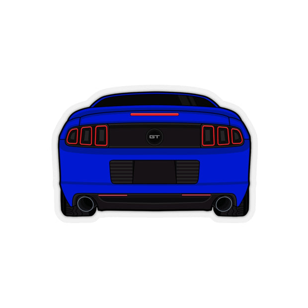 2013/14 Deep Impact Blue Sticker (Rear) - 5ohNation