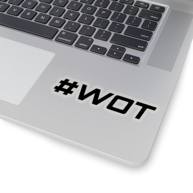 #WOT Decal (Black) - 5ohNation