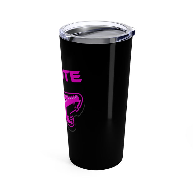 Hot Pink Coyote Tumbler 20z - 5ohNation