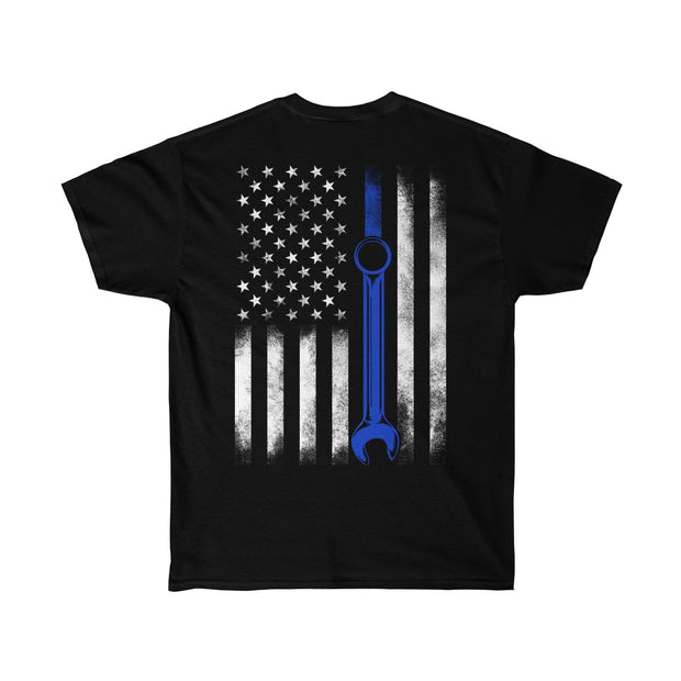 American Flag Wrench Tee (Back Design) - 5ohNation