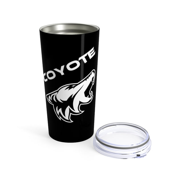 Shadow Black Coyote Tumbler 20z - 5ohNation