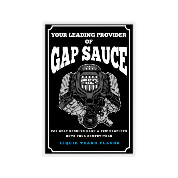 Boss 302 Gap Sauce Sticker - 5ohNation