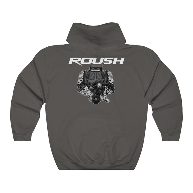 Roush Supercharger Pull Over Hoodie (Back Design) - 5ohNation