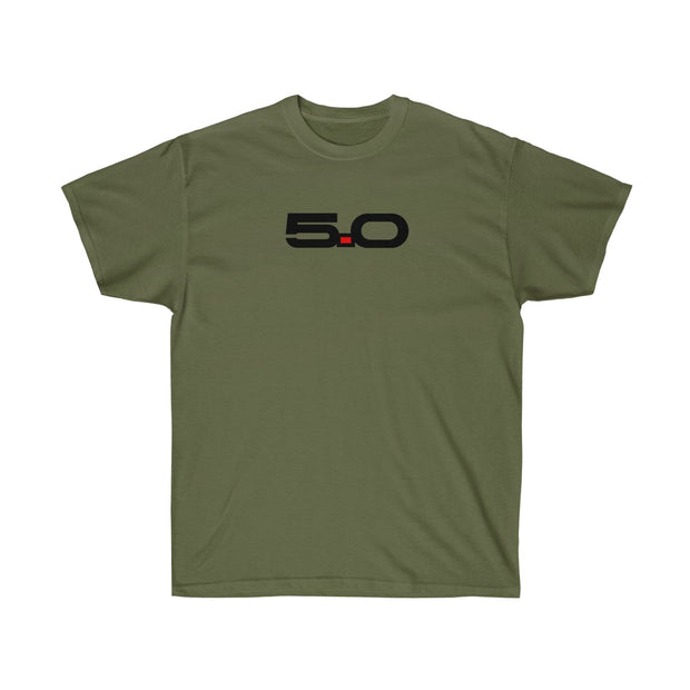 Classic 5.0 Tee (Front Design) - 5ohNation
