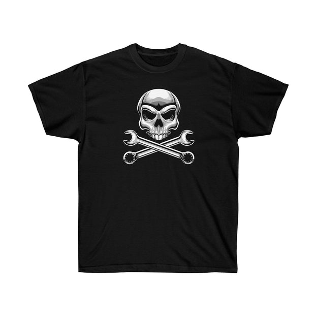 Skull & Wrench Crossbones Tee (Front Design) - 5ohNation