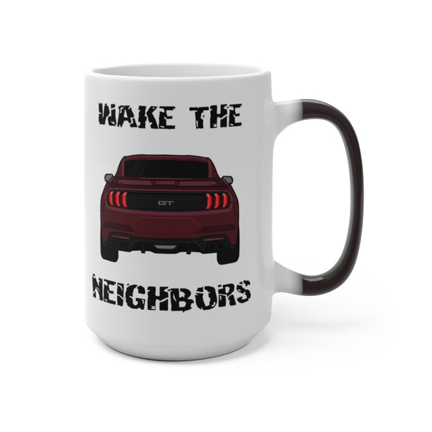 2018-19 Royal Crimson Wake The Neighbors Mug (Color Changing) - 5ohNation