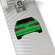 87-93 Green Hatchback Sticker (Rear) - 5ohNation