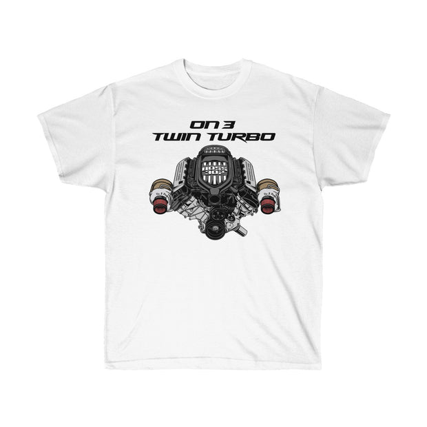 On3 Twin Turbo Tee (Front Design) - 5ohNation