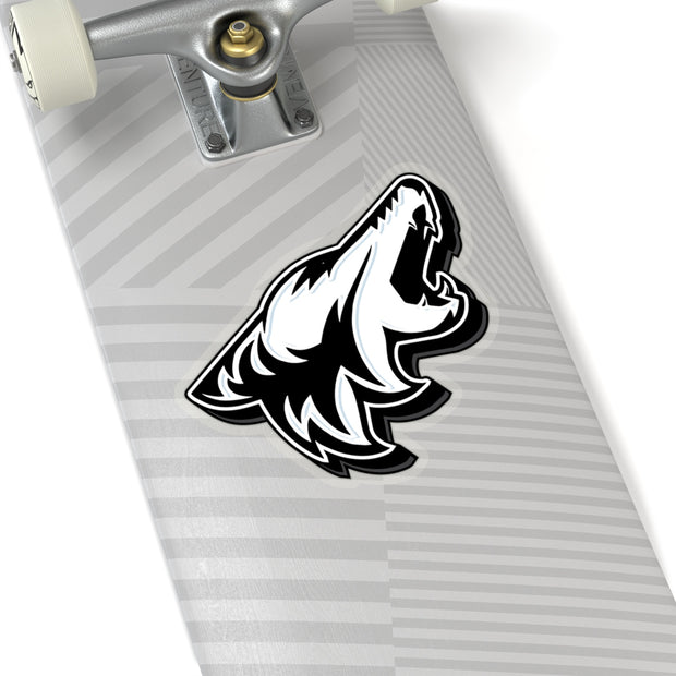 Oxford White Coyote Sticker 3D - 5ohNation