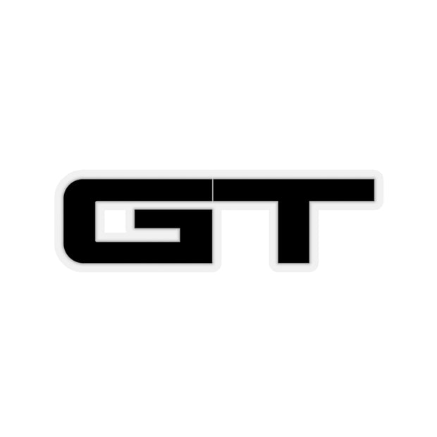 GT Sticker (Black) - 5ohNation