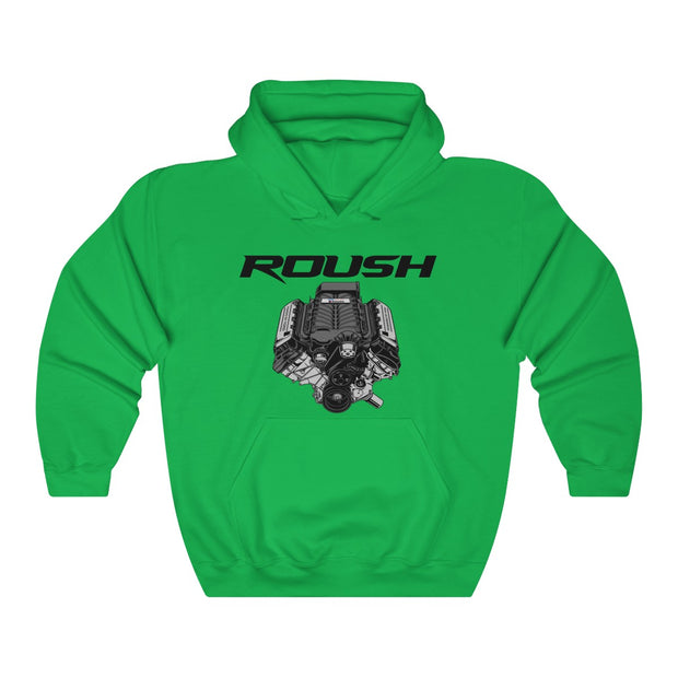 Roush Supercharger Pull Over Hoodie - 5ohNation