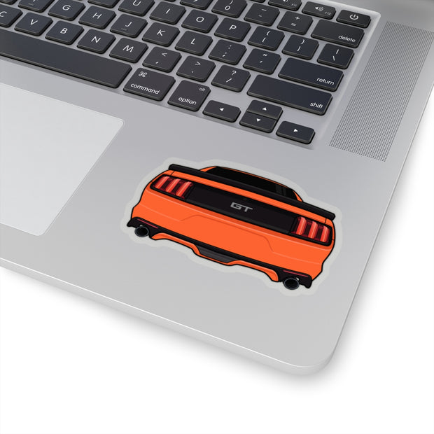2015-17 Competition Orange Sticker (Rear) - 5ohNation