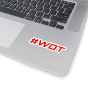 #WOT Decal (Red) - 5ohNation