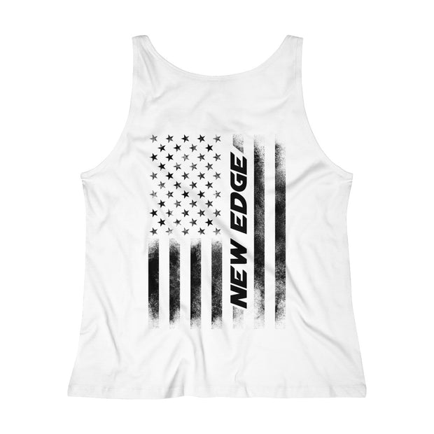 American Flag New Edge Tank Top (Black) - 5ohNation