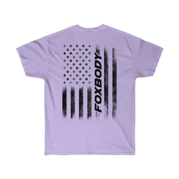 American Flag Foxbody Tee (Black) - 5ohNation