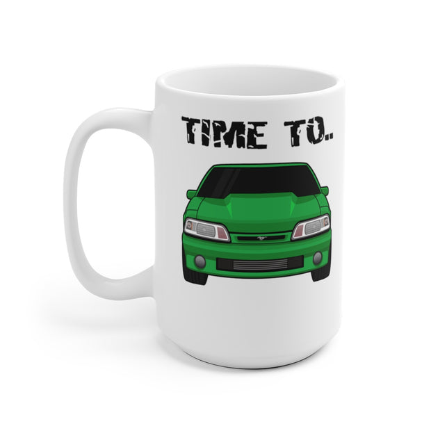 87-93 Green Notchback Wake The Neighbors Mug (Original) - 5ohNation
