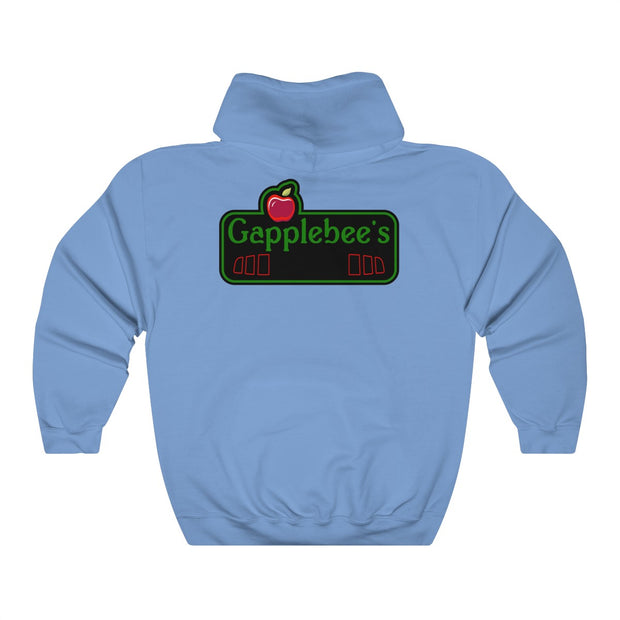 s197 Gapplebee's Pull Over Hoodie (Back Design) - 5ohNation