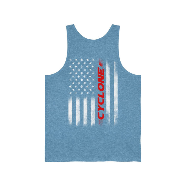 American Flag Cyclone Tank Top - 5ohNation