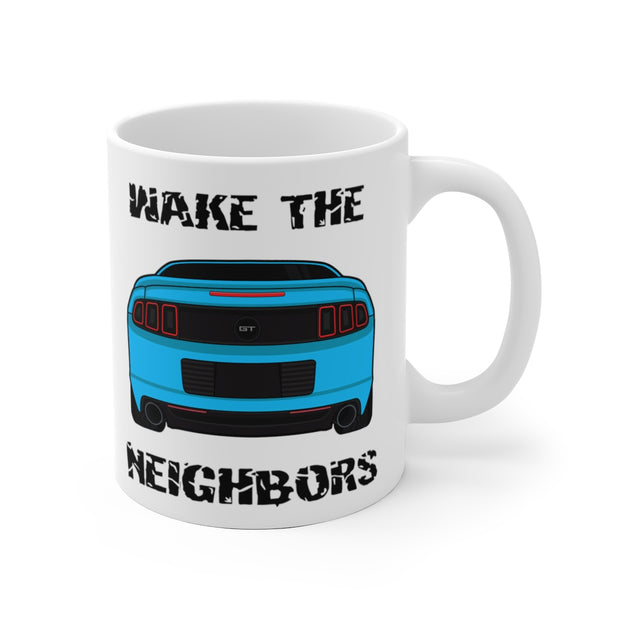 Wake The Neighbors Grabber Blue Mug (Original) - 5ohNation