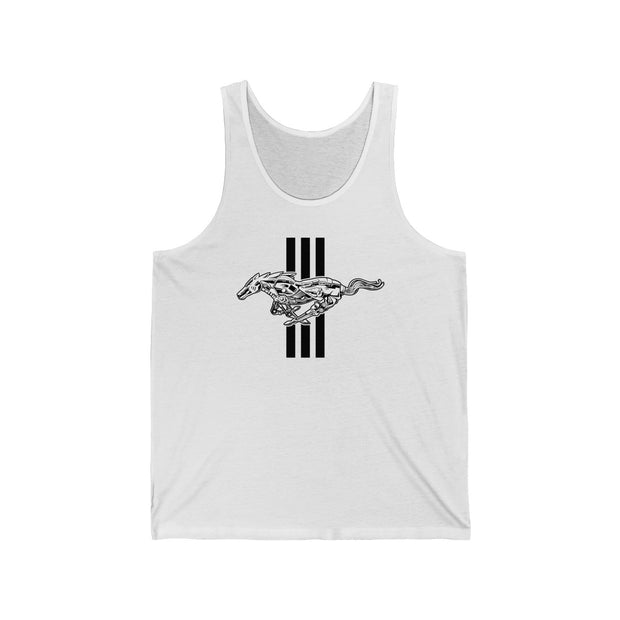 Mechanical Running Pony Tank Top - 5ohNation