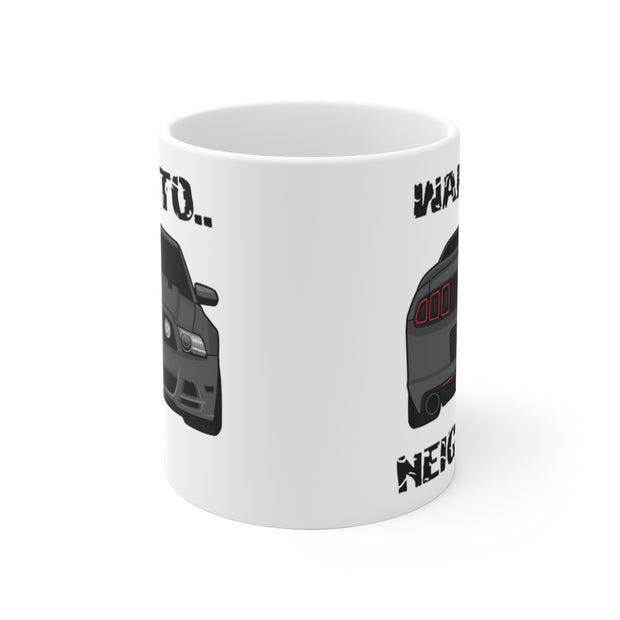 Wake The Neighbors Sterling Grey Mug (Original) - 5ohNation