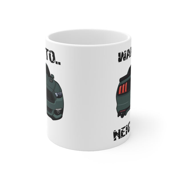 2015-17 Guard Green Wake The Neighbors Mug (Original) - 5ohNation