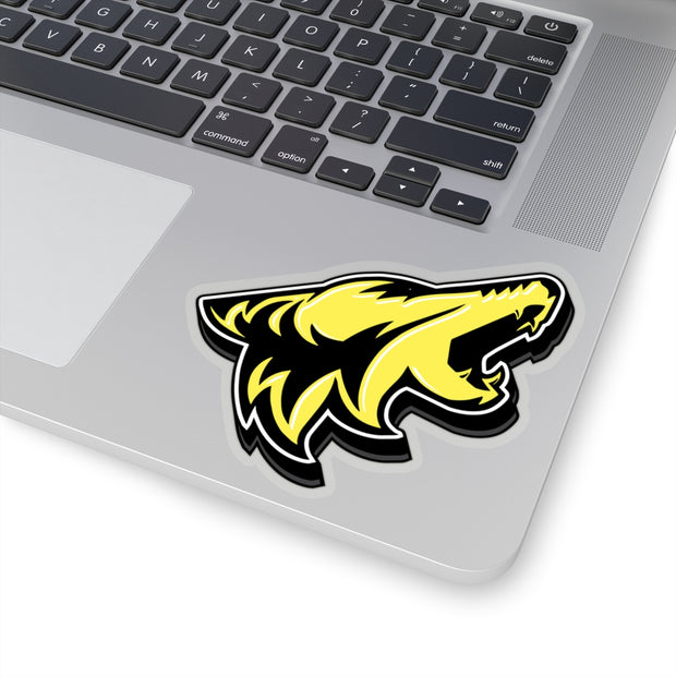 Triple Yellow Coyote Sticker 3D - 5ohNation