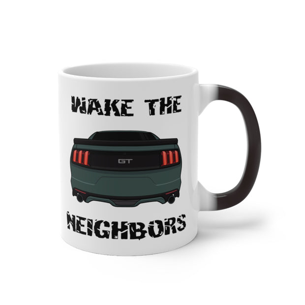 2015-17 Guard Green Wake The Neighbors Mug (Color Changing) - 5ohNation