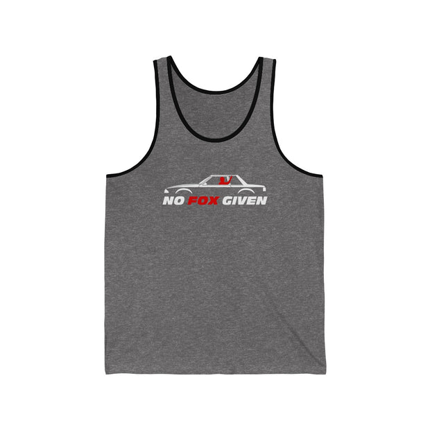 No Fox Given Notchback Tank Top - 5ohNation