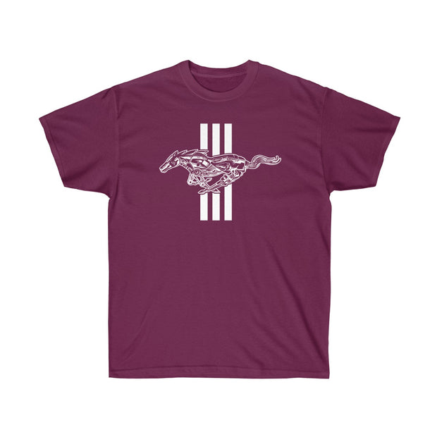 Mechanical Running Pony Tee (Front Design) - 5ohNation