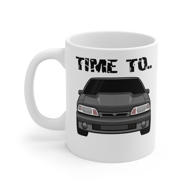 87-93 Gray Hatchback Wake The Neighbors Mug (Original) - 5ohNation