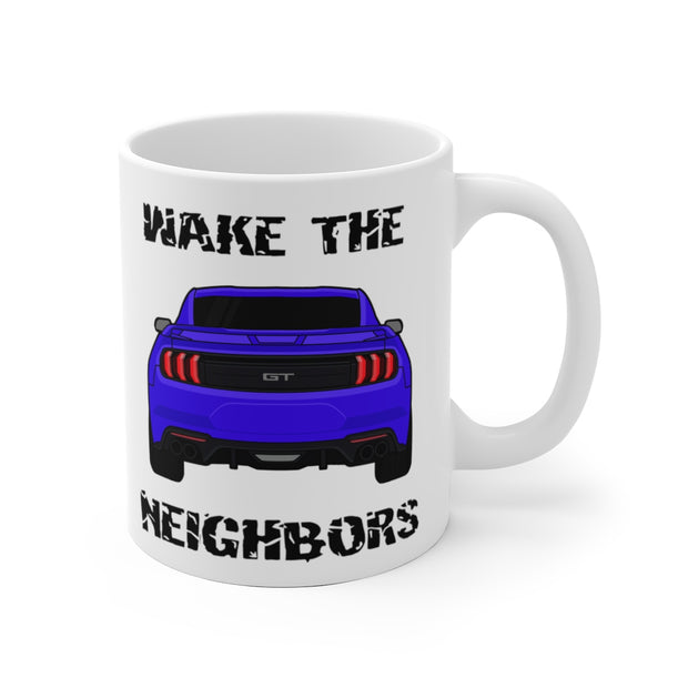 2018-19 Lightning Blue Wake The Neighbors Mug (Original) - 5ohNation