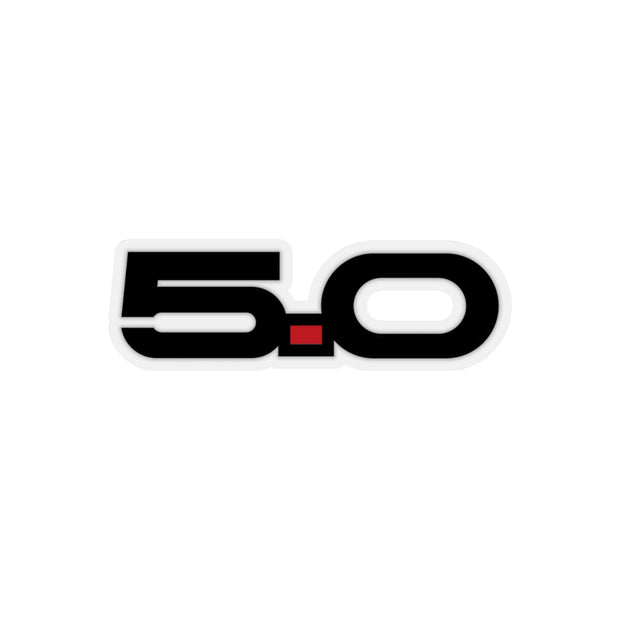 5.0 Sticker (Black) - 5ohNation