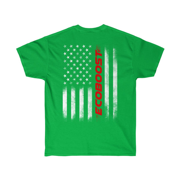 American Flag Ecoboost Tee (Red) - 5ohNation