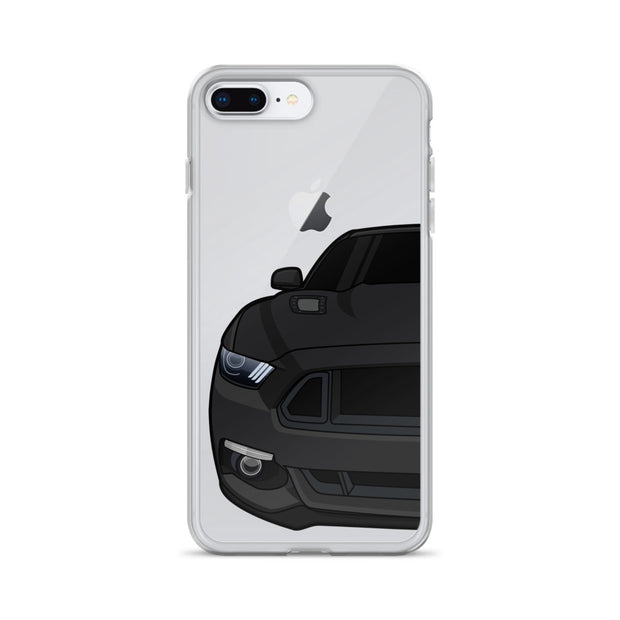 2015-17 Shadow Black Iphone Case (Front) - 5ohNation