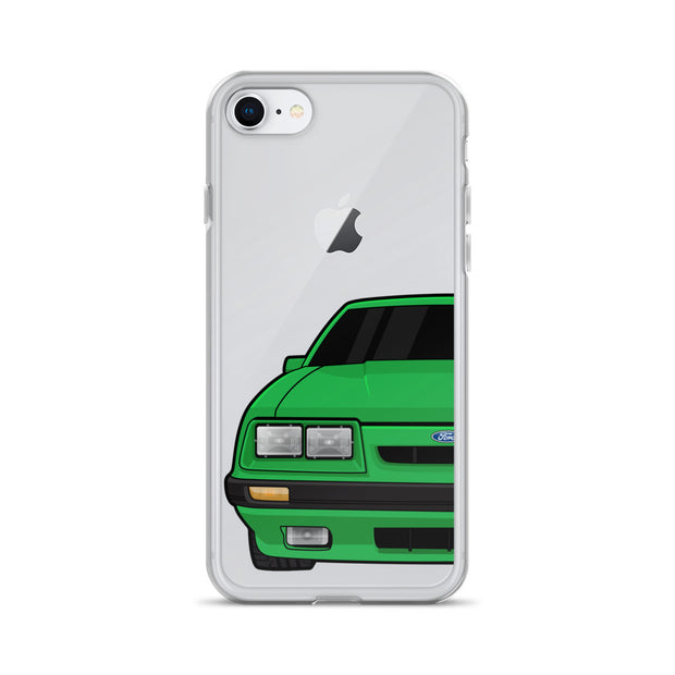 79-86 4 Eye Green iPhone Case (Front) - 5ohNation