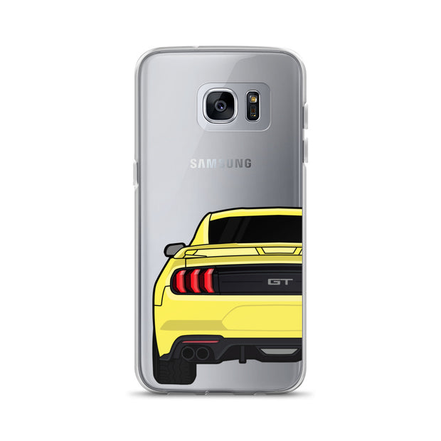 2018-19 Triple Yellow Samsung Case (Rear) - 5ohNation