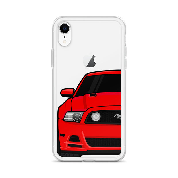 2013/14 Race Red iPhone Case (Front) - 5ohNation