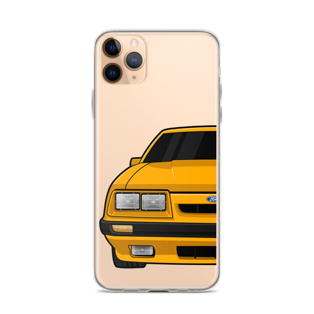 79-86 4 Eye Orange iPhone Case (Front) - 5ohNation