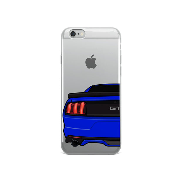 2015-17 Deep Impact/Lightning Blue iPhone Case (Rear) - 5ohNation