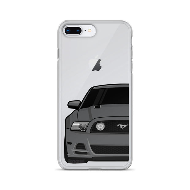 2013/14 Sterling Grey iPhone Case (Front) - 5ohNation