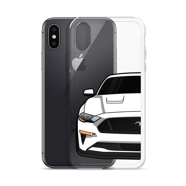 2018-19 Oxford White iPhone Case (Front) - 5ohNation