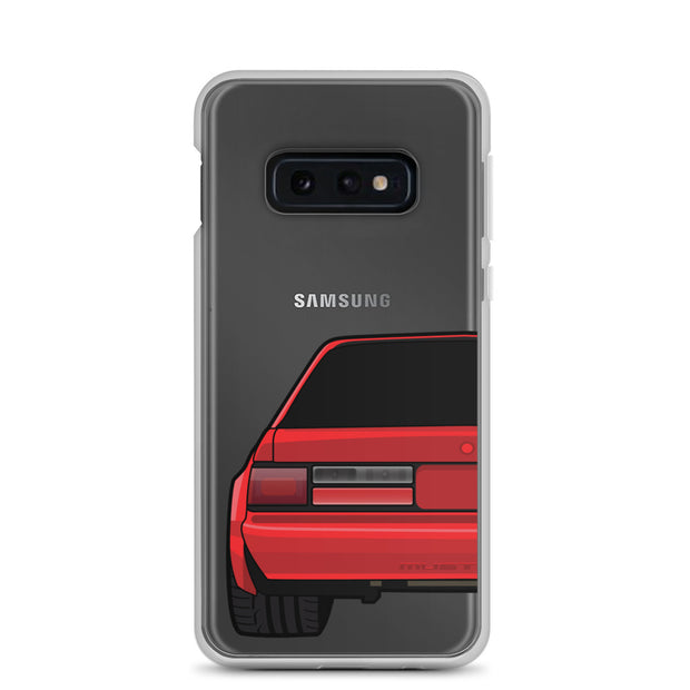 88-93 Notchback Red Samsung Case (Rear) - 5ohNation