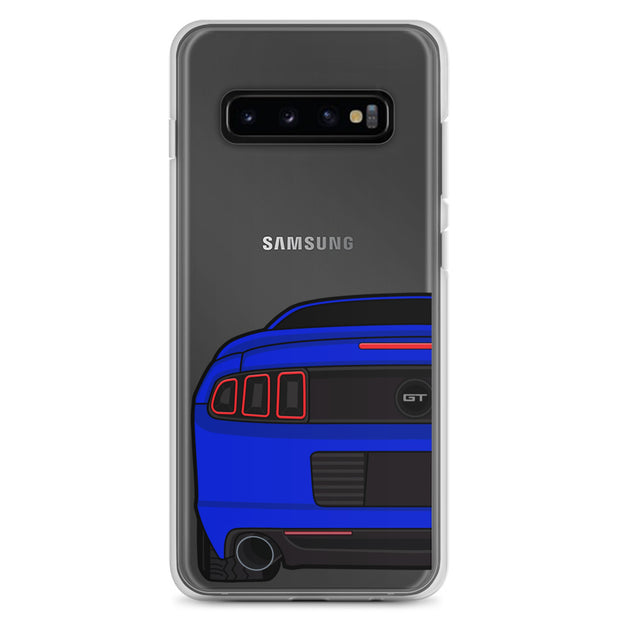 2013/14 Deep Impact Blue Samsung Case (Rear) - 5ohNation