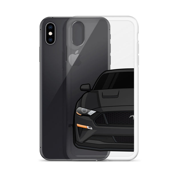 2018-19 Shadow Black iPhone Case (Front) - 5ohNation