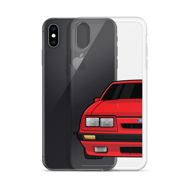 79-86 4 Eye Red iPhone Case (Front) - 5ohNation
