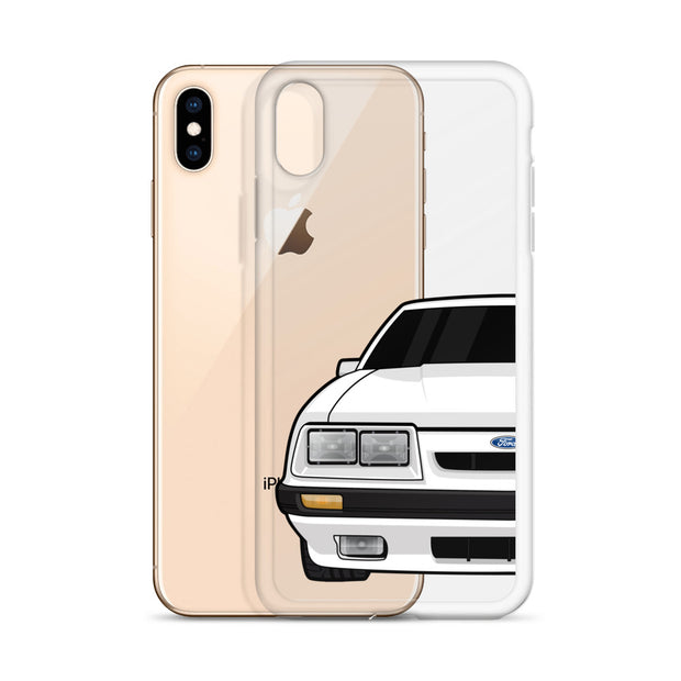 79-86 4 Eye White iPhone Case (Front) - 5ohNation