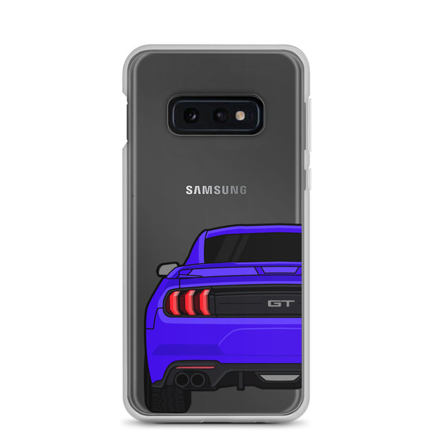 2018-19 Lightning Blue Samsung Case (Rear) - 5ohNation