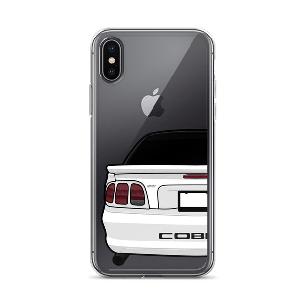 SVT Cobra White iPhone Case (Rear) - 5ohNation